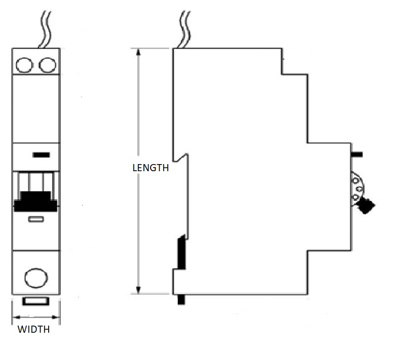 rcbo wiring diagram  | 626 x 419