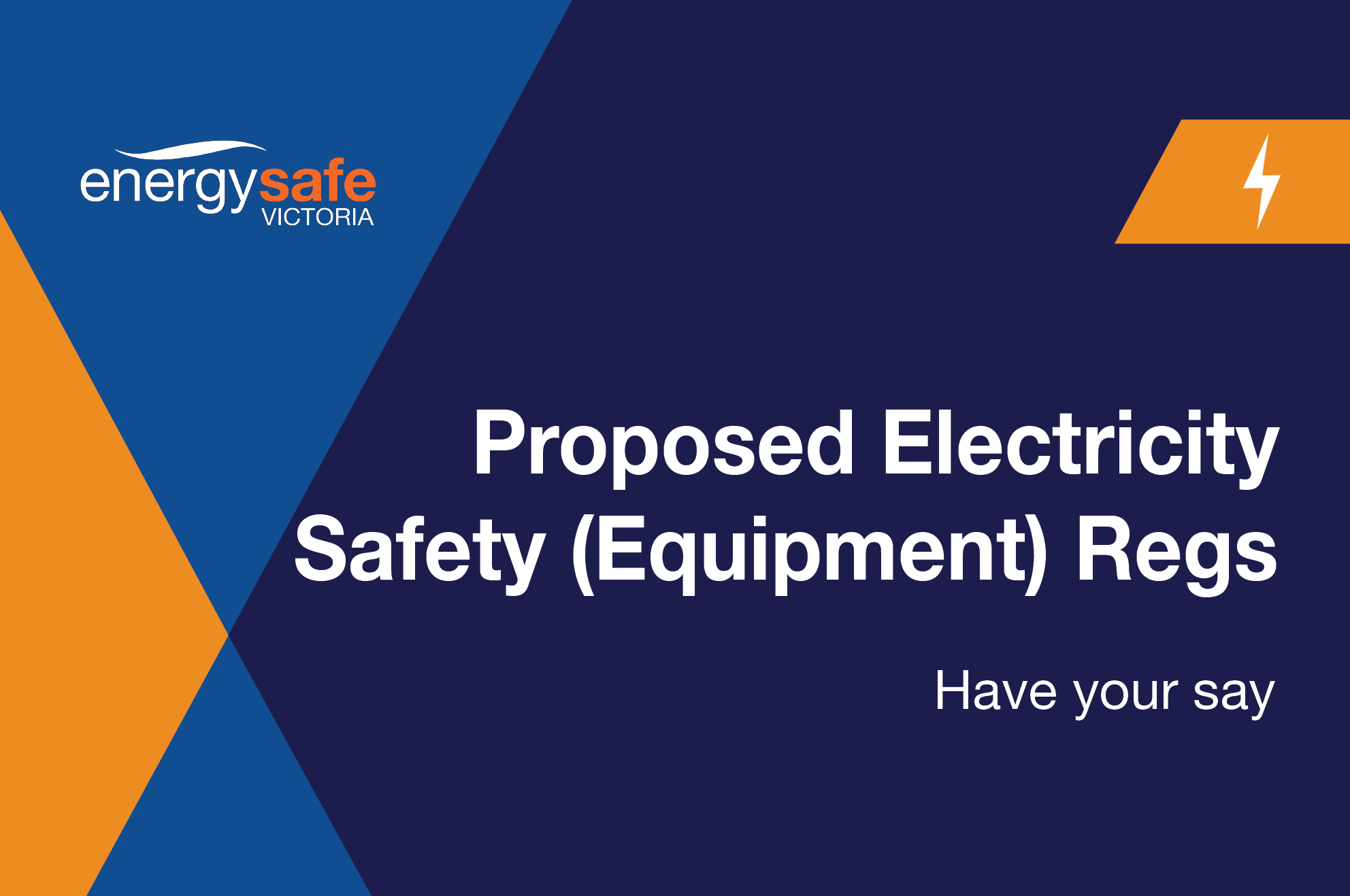 Proposed Electricity Safety Equipment Scheme Regulations Domestic Wiring 2018 Energy Safe Victoria