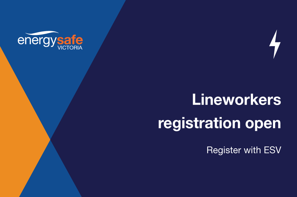 Lineworker registration now open News image