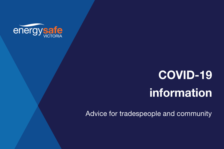 Advice For Tradespeople And Community Energy Safe Victoria